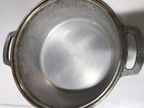 クエン酸で煮た後の無水鍋