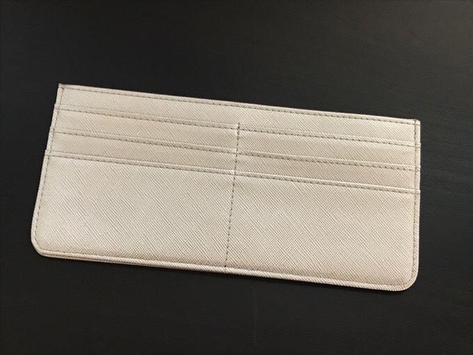 極薄財布 PUレザー 型押し